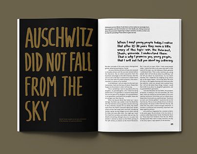 Auschwitz did not fall from the sky