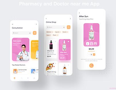 Pharmacy and Doctor near me App