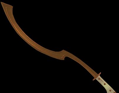 3D Sword: Egyptian Khopesh