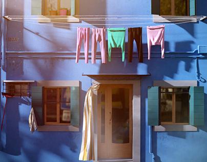 Frente casa Italia - Proyecto Personal