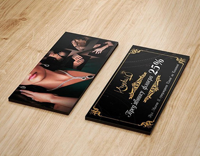 Flyers for a jewelry store