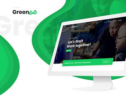 GreenGo - Simple Creative Agency Template