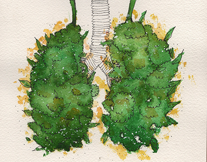 Weed Lungs