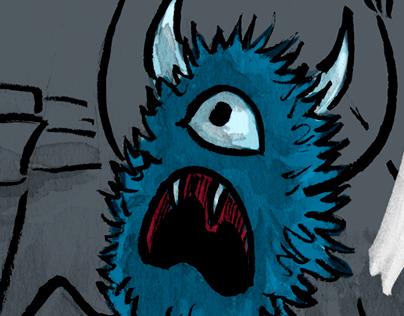 Le Monstre sous le lit...