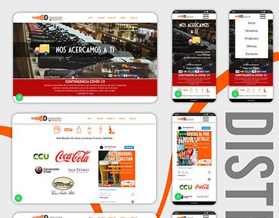 Diseño Web - Distribuidora San Sebastian