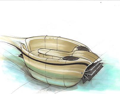 Nutilus - Pedal boat concept