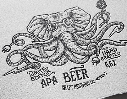 Electric Elephant. Hand Crafted Beer