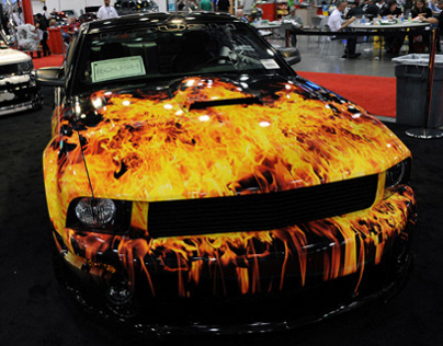 SEMA Auto Show | Car Wrap Designs