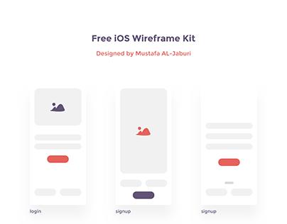 iOS Wireframe Kit