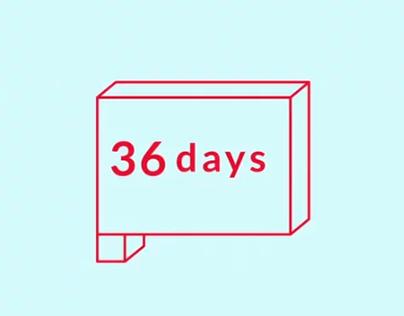 36 Days of Type Animated