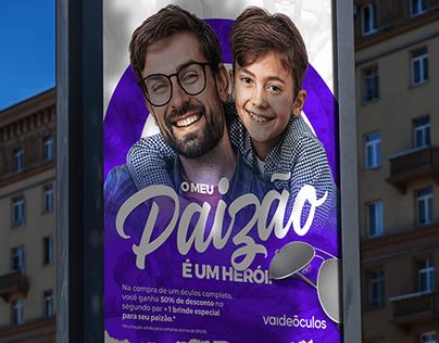 Dia dos Pais - Vai de Óculos