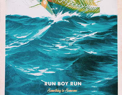 "Run Boy Run ""Something to Someone"" 12"" Vinyl Record"