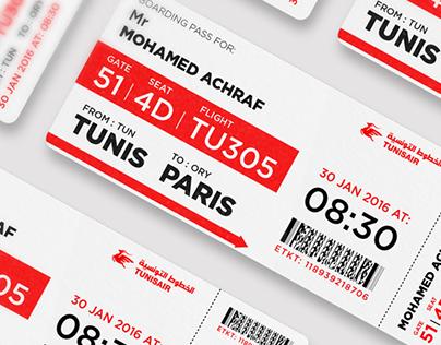 Tunisair - Rebranding