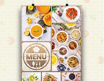 Good Food Menu Flyer