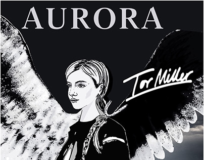 Submitted for Design a tour poster for AURORA