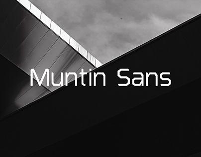 Muntin Typeface