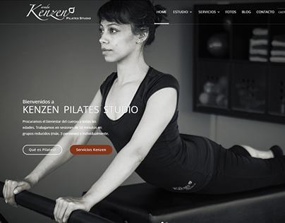 Kenzen Pilates Studio | Website