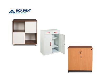 Hoa Phat Low file cabinets - Tu ho so thap Hoa Phat