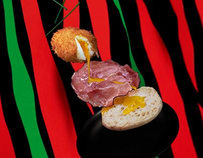 HAM 'N' EGGS - Hip Hop Food Serie