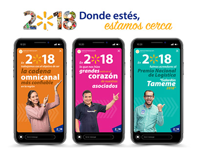 Instagram Stories Informe de RC Walmart 2018