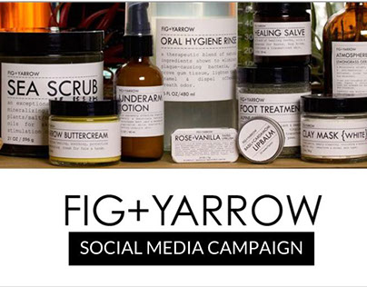 Social Media Marketing | Fig+Yarrow
