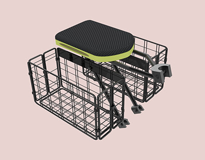 Portable Cycle Seat and Basket