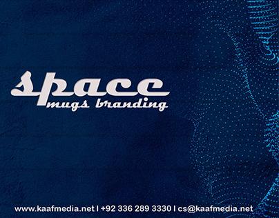 Space Mugs Branding Designed By Kaaf Media Network