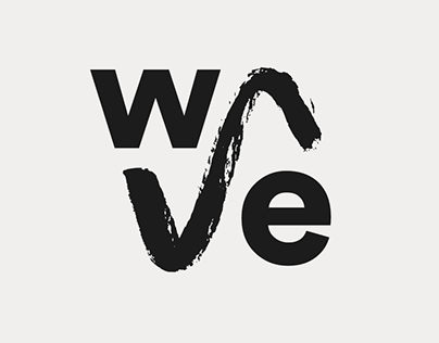The Wave branding identity