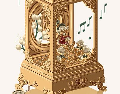 Uncle Scrooge Music Box