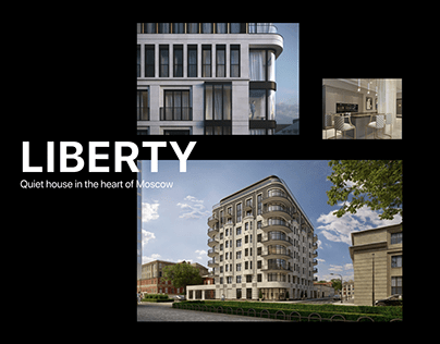 Liberty Club house in Moscow