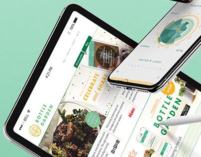 Bottle Garden - Terrarium tracker app