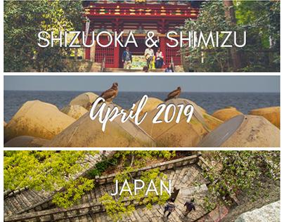 Shizuoka & Shimizu, Japan - April 2019