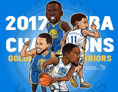 NBA CHAMPIONS 2017