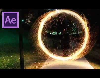 doctor strange portal effect, after effects
