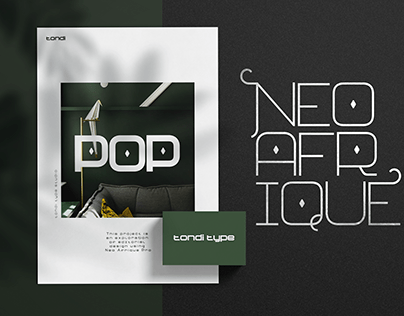 Neo Afrique Font Family | A Work In Progress