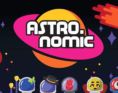 Astronomic - Jogo para crianças