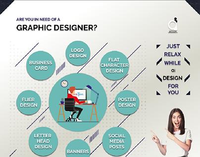 Graphic Design ad for ai design