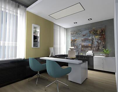 EXECUTIVE OFFICE / interior design 2015