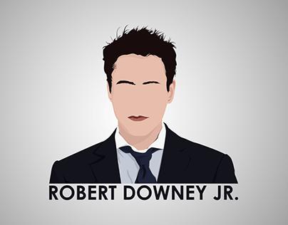 Robert Downey Jr. | Vector Illustration