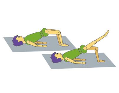 Exercices de Kiné