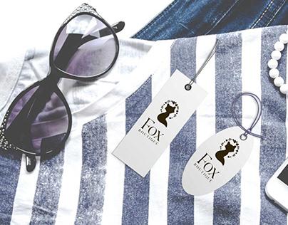 Fashion Cloth Tag Mockup