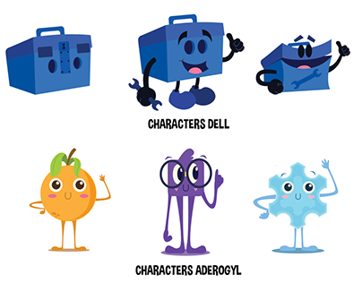 Character Design Projects