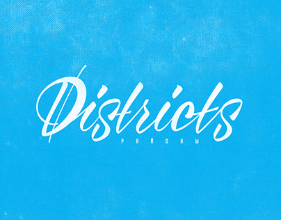 "Lettering compilation #1 ""Districts project"""