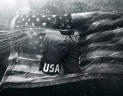 Hurley Phantom Hyperweave Ellite USA