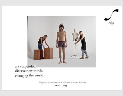 Steady & Strong—Sloggi, Campaign Design