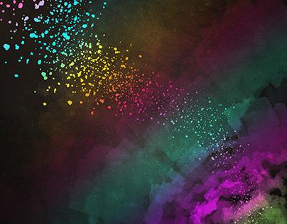 Abstract Colour Texture