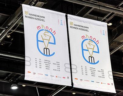 Hahnenkamm Rennen Kizbuhel competition poster