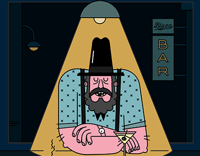 Poster Bluzz Bar