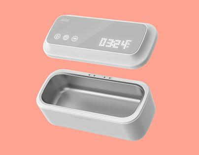 ACA portable ultrasonic cleaning box