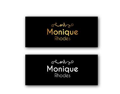Logo Design for Monique Rhodes